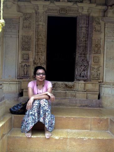 Jain temple inside fort